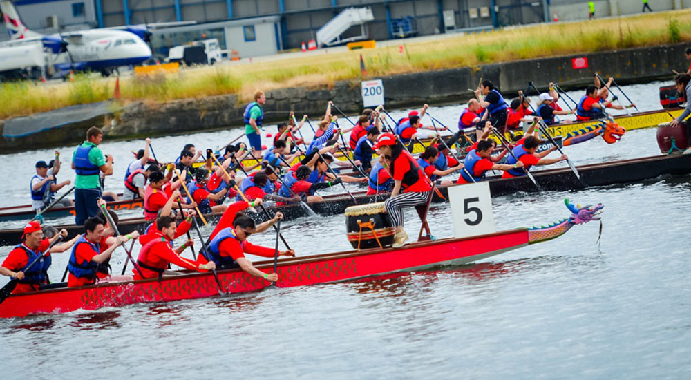 2015 Chinese dragon boat race in London