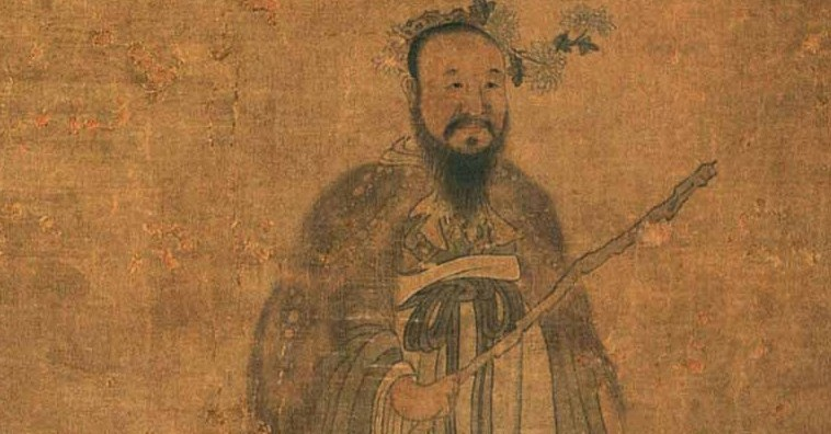 Qu Yuan, minister and poet in ancient China. The origin of China's Dragon Boat Festival.